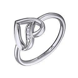 Серебряное кольцо Амориа с бриллиантами