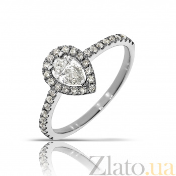 Кольцо из белого золота Свитта с бриллиантами 000045958