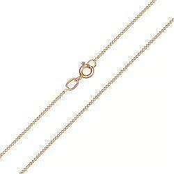 Золотая цепочка в красном цвете панцирного плетения, 1мм 000101631