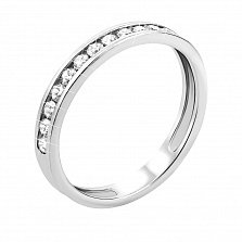 Кольцо в белом золоте Мадемуазель
