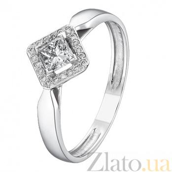 Кольцо из белого золота с бриллиантами Орнелла KBL--К1169/бел/брил