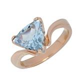 Золотое кольцо с топазом Киселин