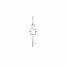 Серебряная подвеска-ключик Тайна