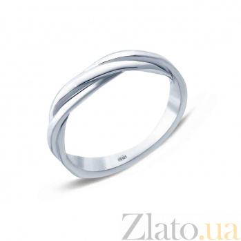 Серебряное фаланговое кольцо Сплетение судеб AQA--114570014