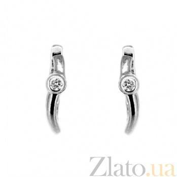 Золотые серьги с бриллиантами Ханна ZMX--ED-6642w_K