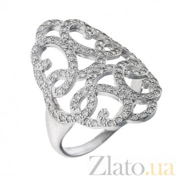 Серебряное кольцо с фианитами Беллатрикс AUR--81503б