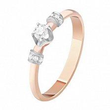 Золотое кольцо с бриллиантами Аглая