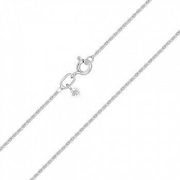 Серебряная цепочка в якорном плетении 1 мм 000118282