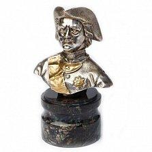 Серебряная статуэтка бюст Петр Первый