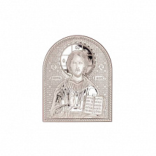 Серебряная икона Иисуса Христа