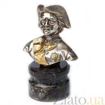 Серебряная статуэтка бюст Петр Первый 364/к