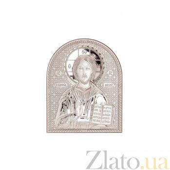 Серебряная икона Иисуса Христа AQA--01132221