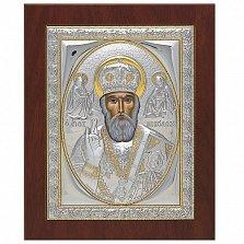 Икона Святителя Николая Чудотворца, 21х17см