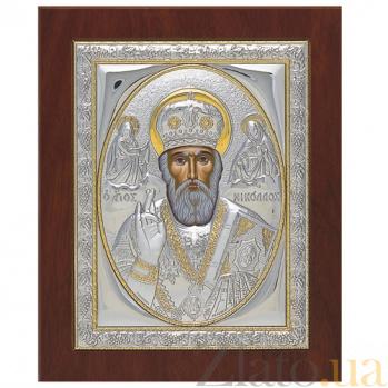 Икона Святителя Николая Чудотворца, 21х17см SXGП Никол 21х17