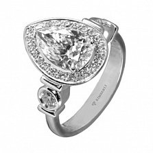 Золотое кольцо с бриллиантами Марианжела