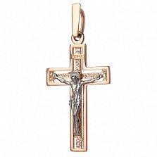 Крестик золотой Благая весть