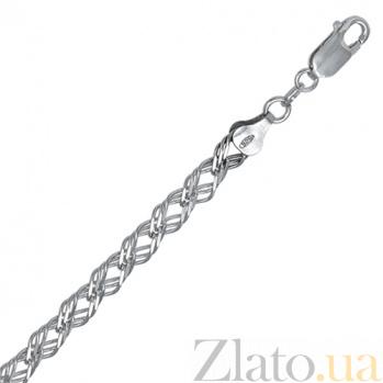 Серебряная цепь Веллингтон 000027728