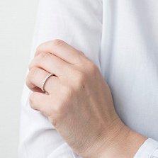 Кольцо из белого золота Эстель с бриллиантами