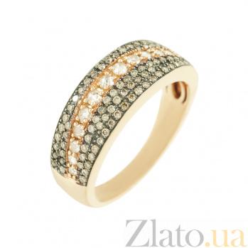 Золотое кольцо с бриллиантами Габриэль 1К441-0198