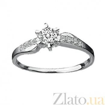 Кольцо для помолвки с бриллиантами Мальвина KBL--К1405/бел/брил