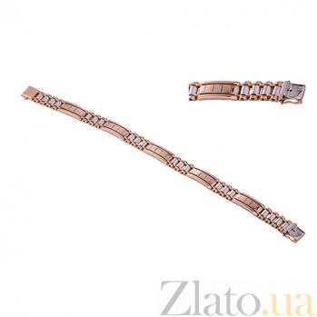 Мужской браслет из желтого золота Джонас ONX--б00585