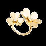 Кольцо из желтого золота с бриллиантами Frivole