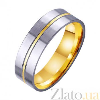 Золотое обручальное кольцо Бесконечная страсть TRF--4511754