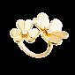 Кольцо из желтого золота с бриллиантами Frivole R-VCA-Frivole-E-diam