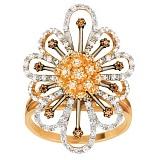 Кольцо из желтого золота Церера