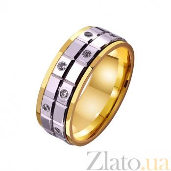 Золотое обручальное кольцо Взрыв эмоций TRF--4421597