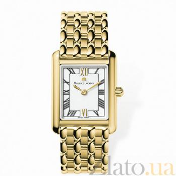 Часы Maurice Lacroix в позолоте из коллекции Les Classiques MLX--LC2011-YP016-110