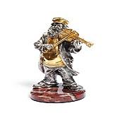 Серебряная статуэтка Скрипач