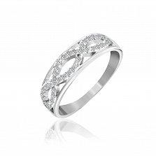 Серебряное кольцо Виталина с фианитами