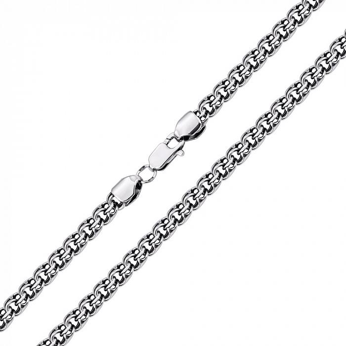 Серебряная черненая цепь Ливандер, 6мм 000079918