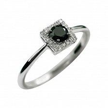Золотое кольцо с бриллиантами Жаннет