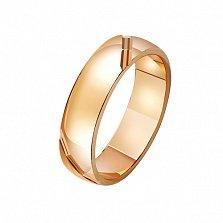Золотое обручальное кольцо Король Артур
