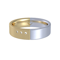 Золотое кольцо с бриллиантами Соловей