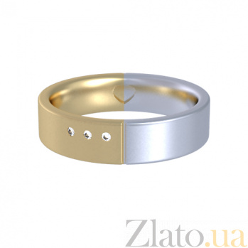 Золотое кольцо с бриллиантами Соловей 000029864