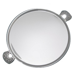 Серебряная тарелка Приятного аппетита 000043539