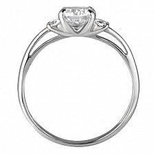 Серебряное кольцо Диана
