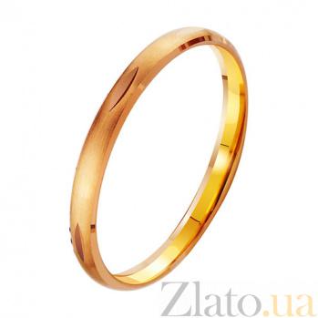 Золотое обручальное кольцо Вечная весна TRF--411900