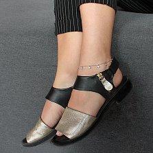 Серебряный браслет на ногу Ниагара с подвесками в виде завальцованных фианитов