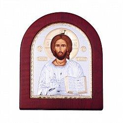 Икона Иисус с серебрением 000133802