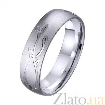 Золотое обручальное кольцо Северное сияние TRF--4211761