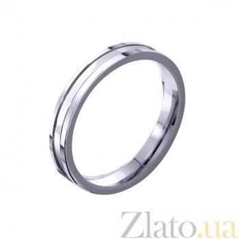Золотое обручальное кольцо Love me TRF--4211154