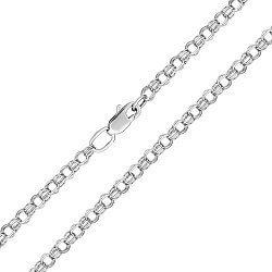 Серебряная цепочка в плетении бисмарк, 2,5 мм 000118317