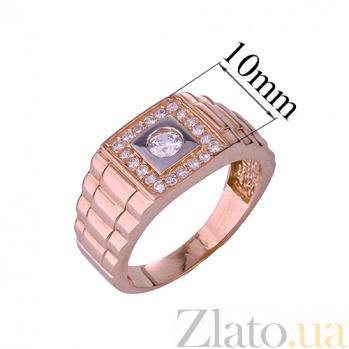 Золотое кольцо с фианитами Дэриен ONX--к00901
