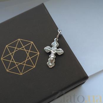Серебряный родированый крестик Небесные силы HUF--311102-Р