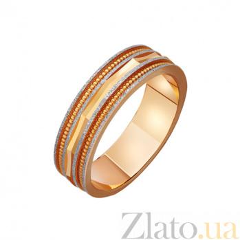 Золотое обручальное кольцо Комплимент TRF--411464