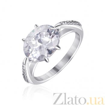 Серебряное кольцо с фианитами Амрита 000025520